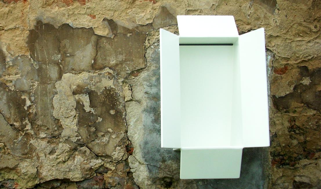 Design koncept - porcelánový pisoár Pixle.