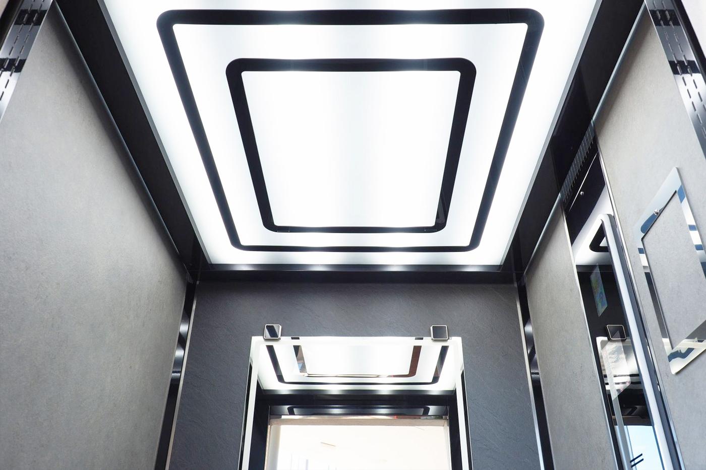 Výsledný design prezentovaný na kabině LC Elegant.