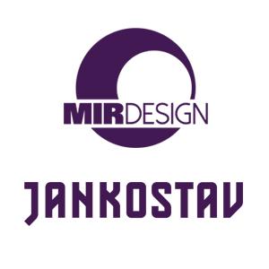 Studie interiérů alternativního domu projektu MIR design. Kreativní podpora pro firmu Jankostav zabývající se dopravními stavbami. ;