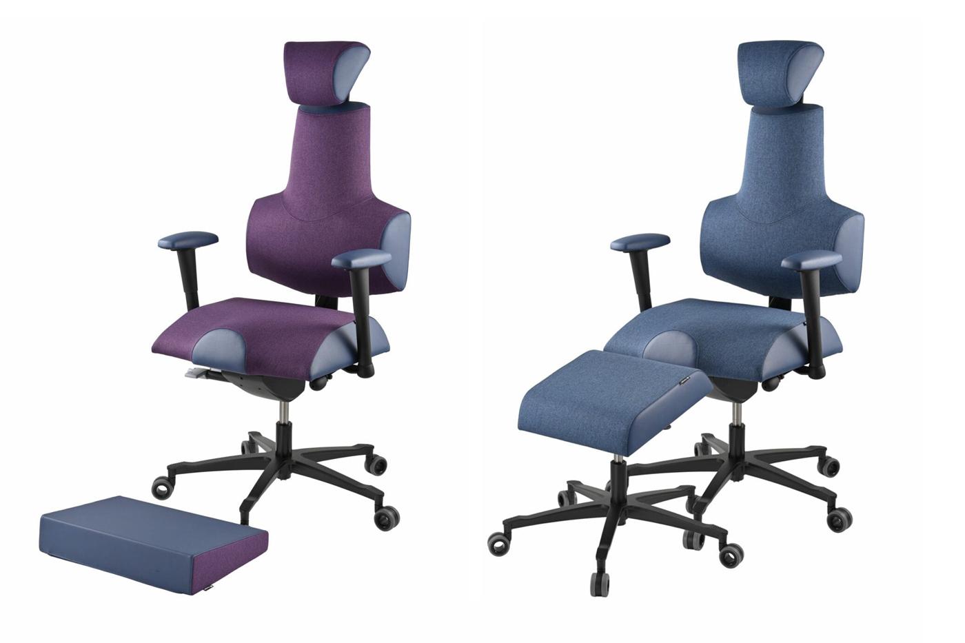 Kancelářská židle Therapia Sense, různé doplňky.