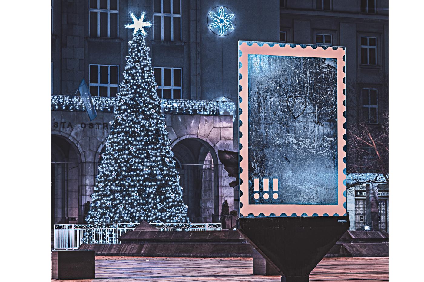 Super vánoční fotka je dílem Martina Hladíka