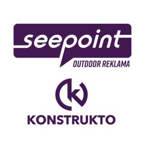 Seepoint - design produktů komunikace a městského mobiliáře s informačním obsahem. Konstrukto - vzájemná spolupráce s konstrukční kanceláří při vytváření prototypů a přípravků pro výrobu.